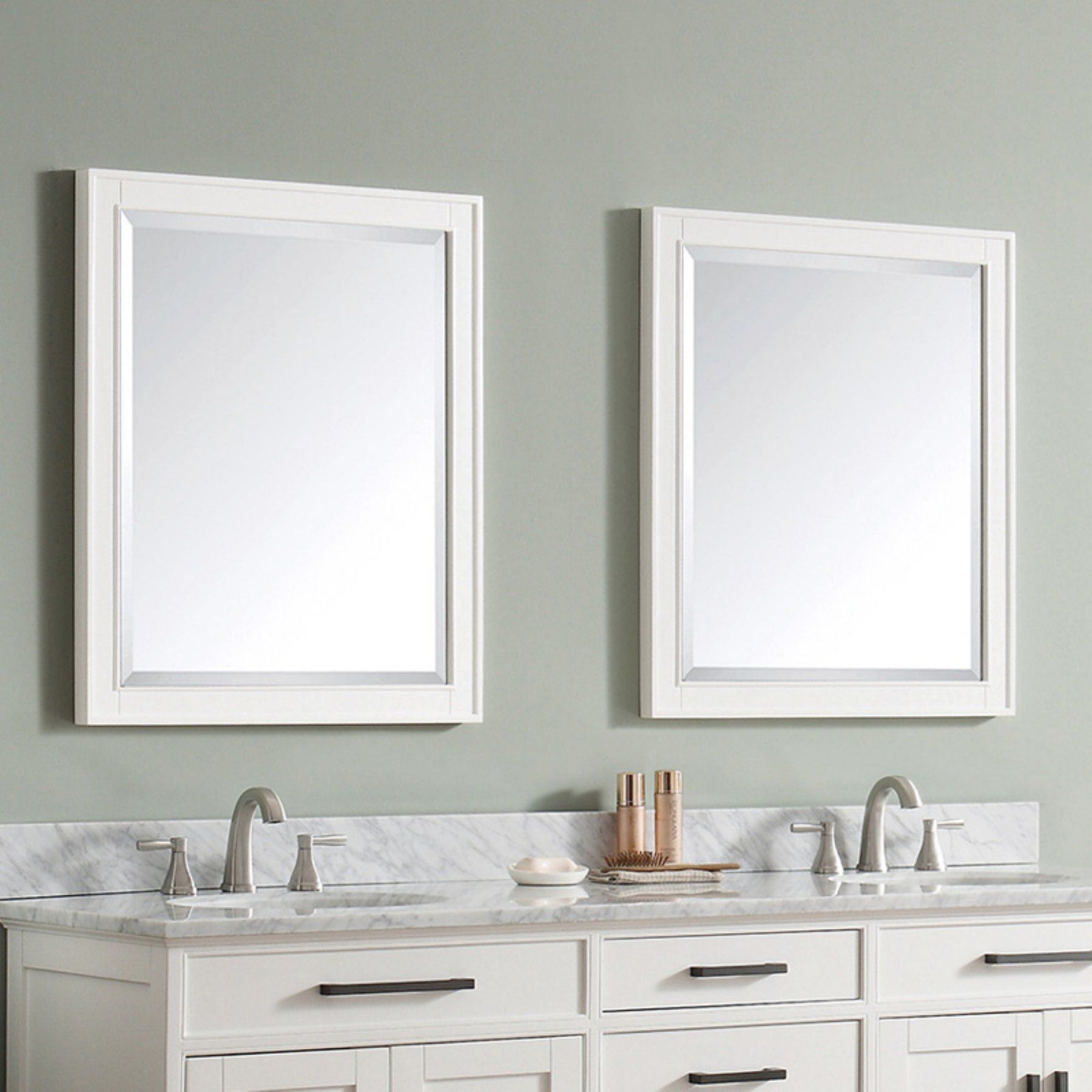 Avanity Madison Bathroom Wall Mirror Madison M28 Wt Mirror