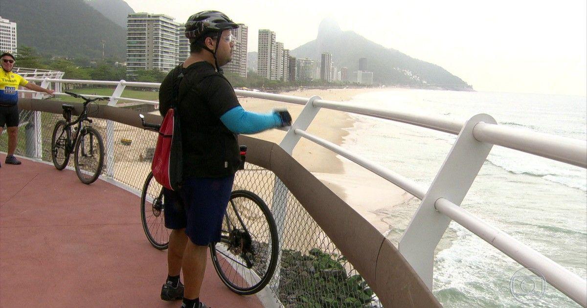 Cariocas aprovam novo trecho da ciclovia Tim Maia