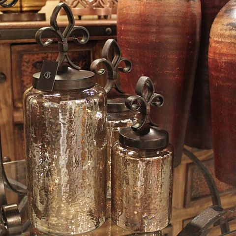 Beau Fleur De Lis Canisters, Tuscan Canister Set Beautiful For Island Or The  Extra Counter Space In Kitchen By Oven/microwave Wall