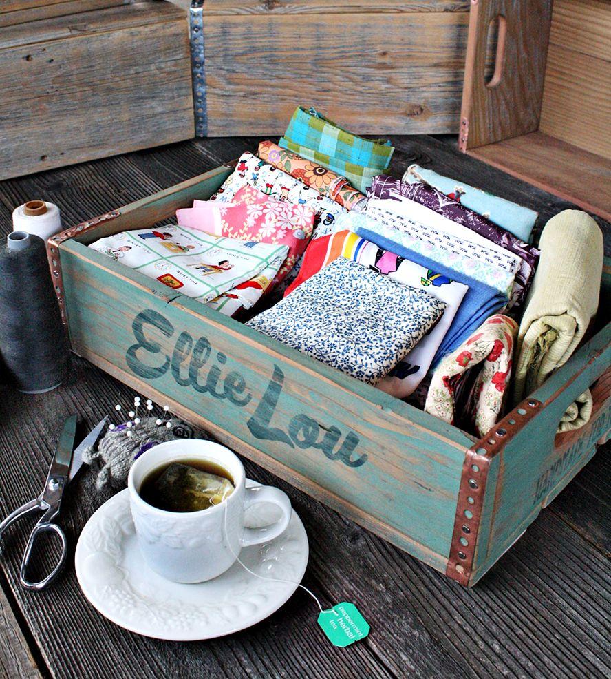 Custom Reclaimed Wood Crate