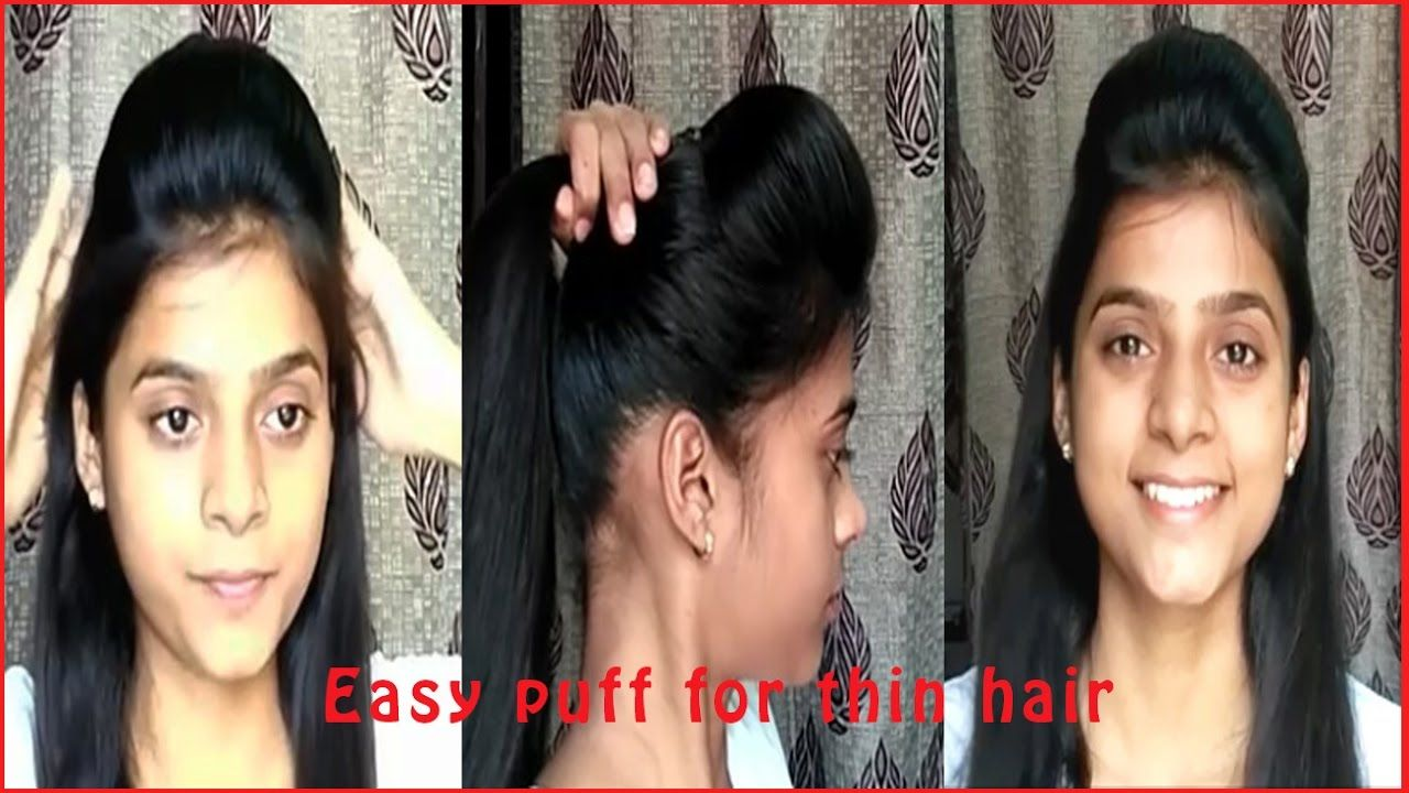 Hairstyle For Thin Hair Indian Female Hairstyleideas Hairstylecool