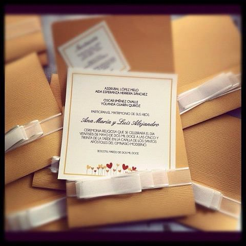 Our Wedding Invitations :)