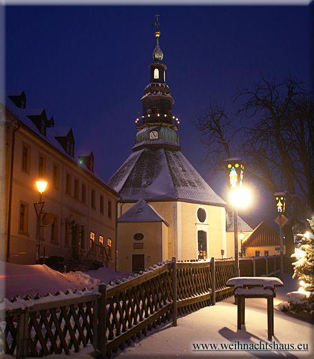 Seiffener Barockkirche | Erzgebirge weihnachten ...