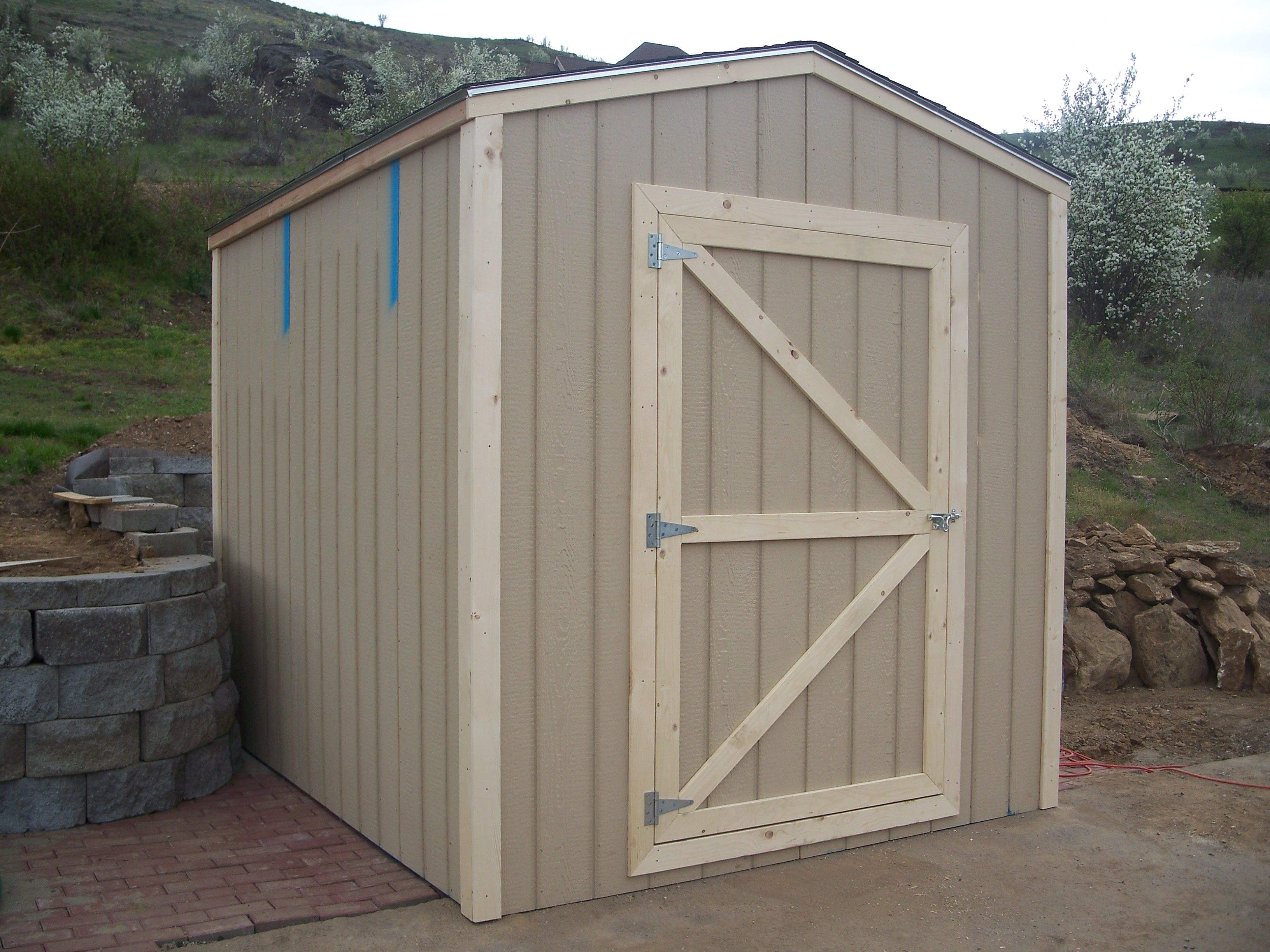 Shed doors Diy Pinterest