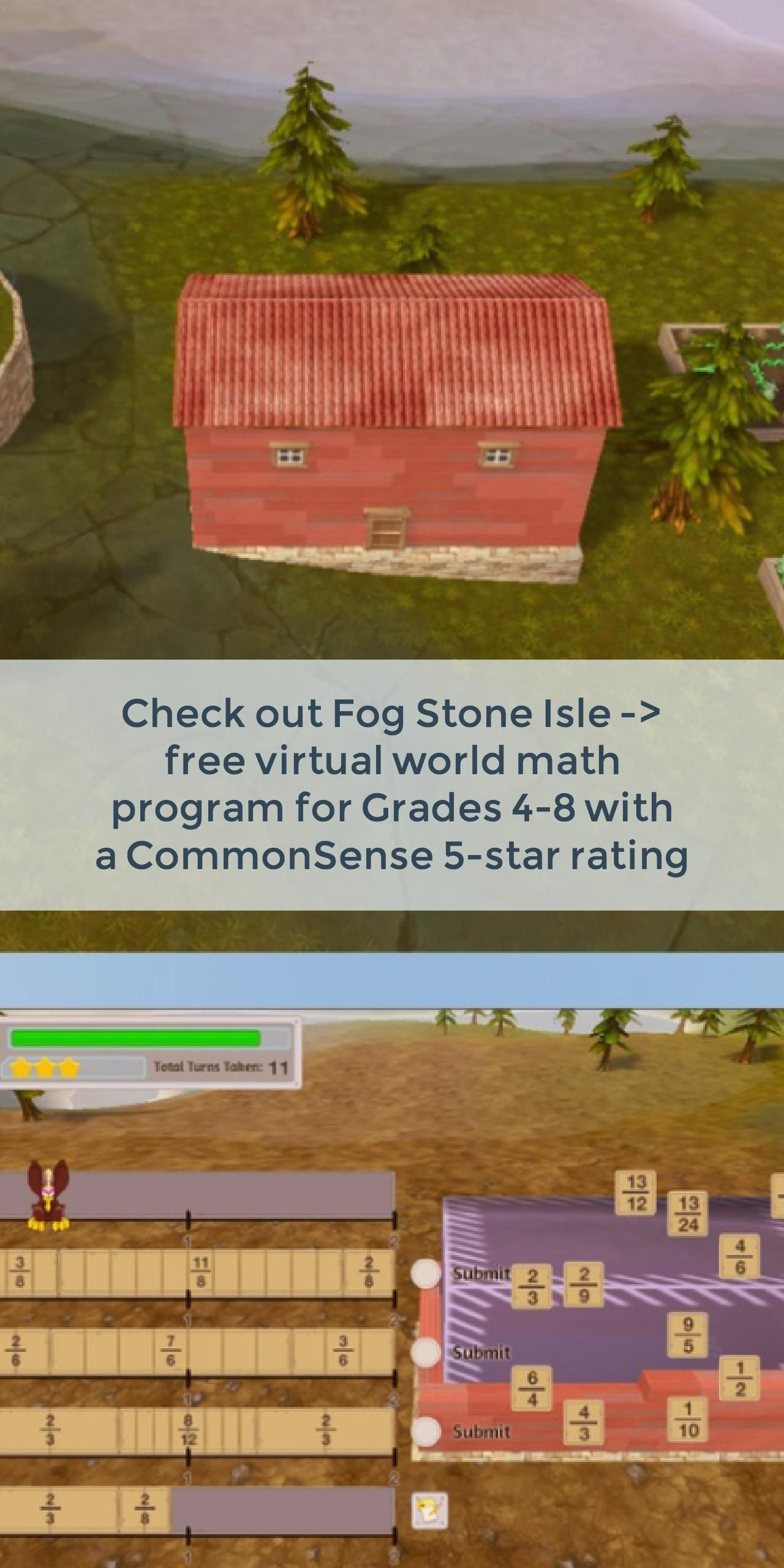 Fog Stone Isle | Free math games, Teacher websites and Free math