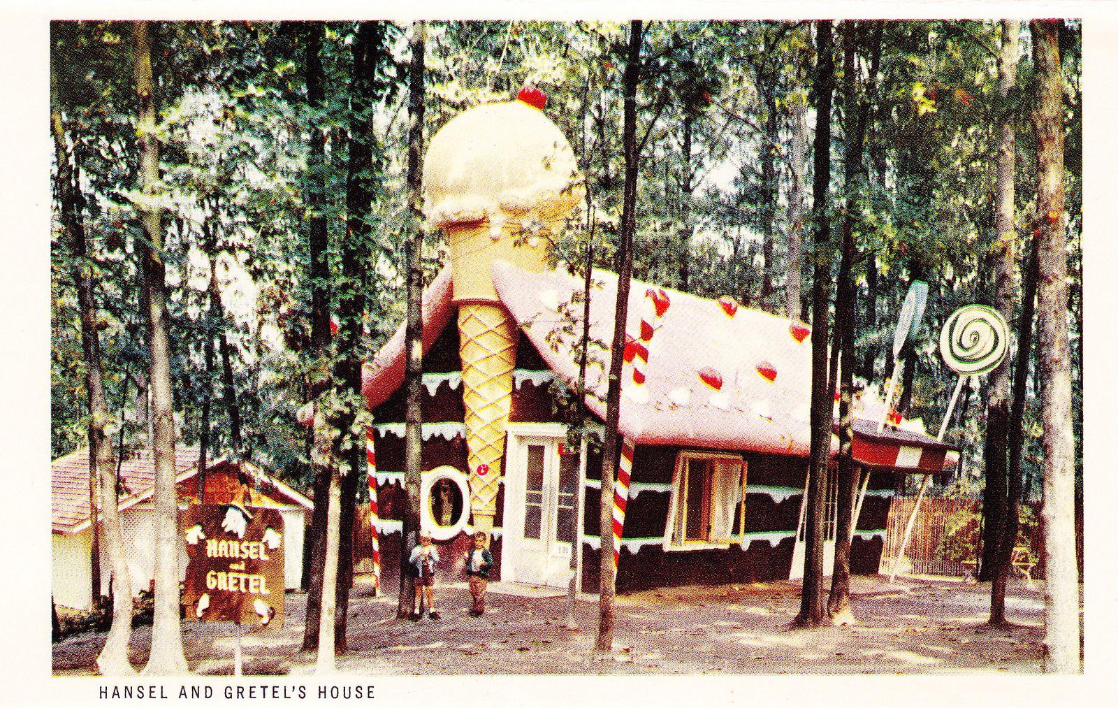 Vintage Enchanted Forest Souvenir Postcard Set Hansel