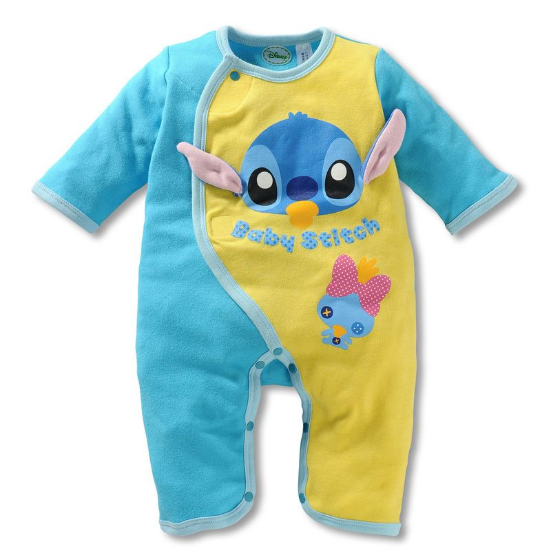 New Baby Newborn Boy Girl Disney Cool Clothes Romper Jumpsuit Outfit