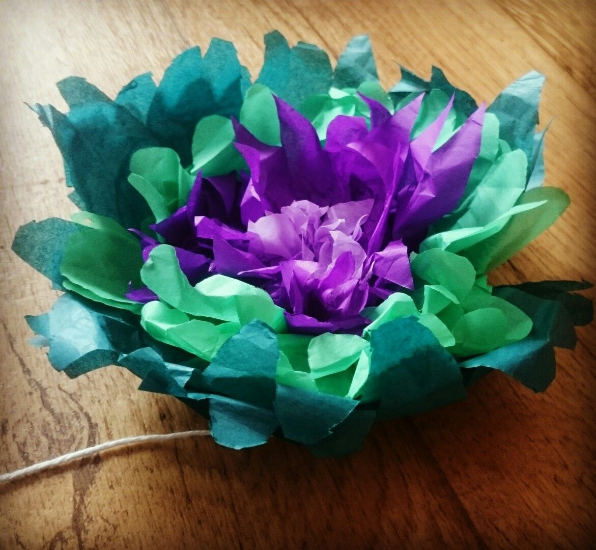 Tissue Paper Flower Paper Flowers Pinterest Tissue Paper