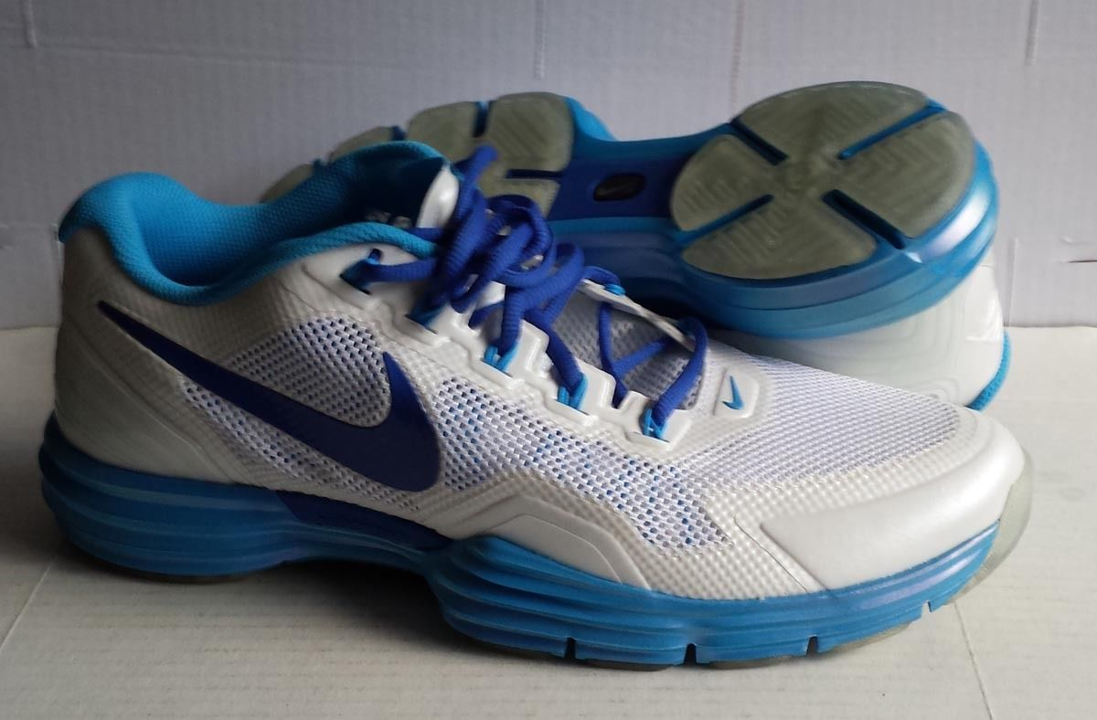 #NIKE size 11 men sneakers NIKE PLUS white synthetic NEW (no box ) visit our ebay store at  http://stores.ebay.com/esquirestore