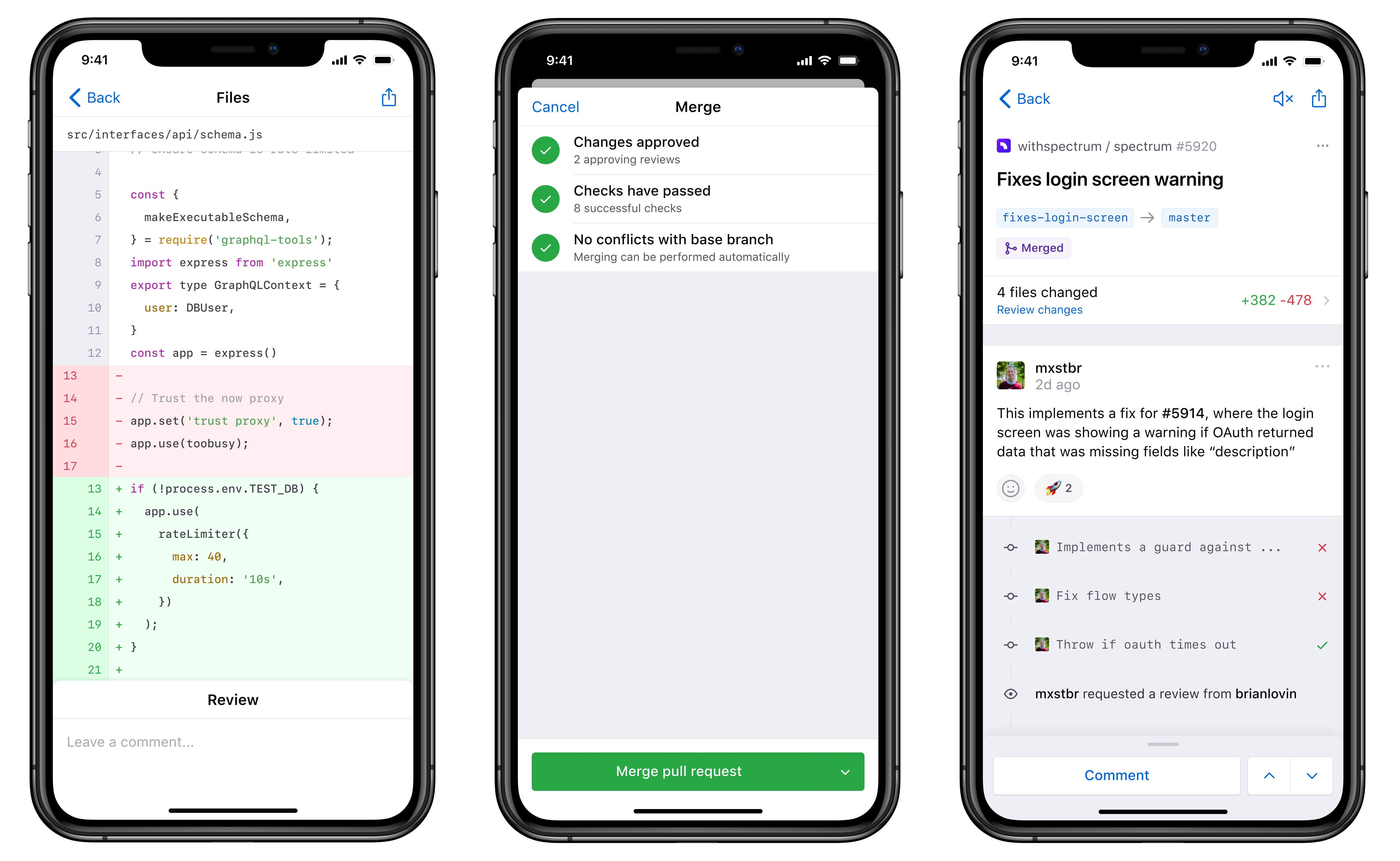 New from GitHub Universe 2019 GitHub for mobile