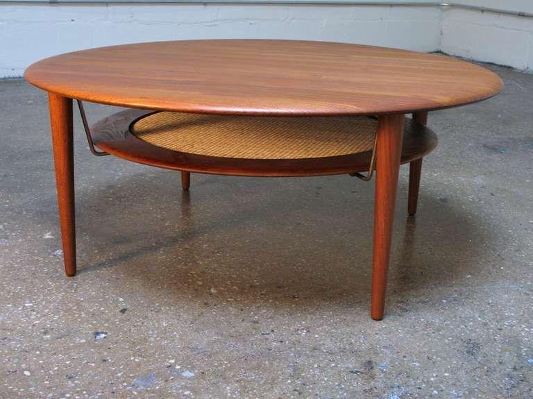 1stdibs Com Peter Hvidt For France Son Round Teak Table Coffee Table Design Modern Coffee Table Teak Coffee Table