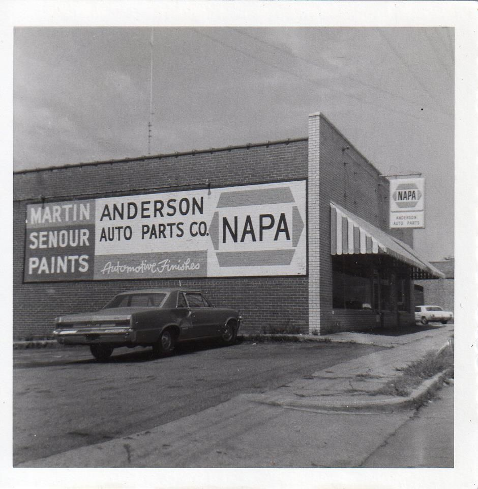 Car Dealerships From Past: Anderson (Napa) Auto Parts