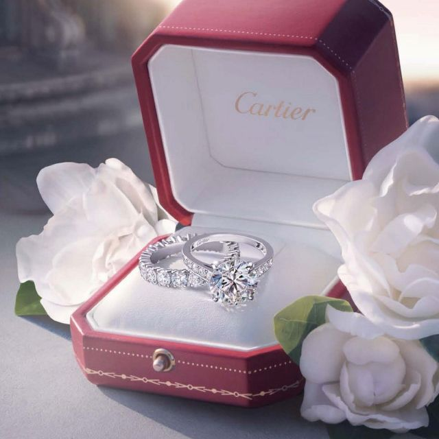 Rings by Cartier