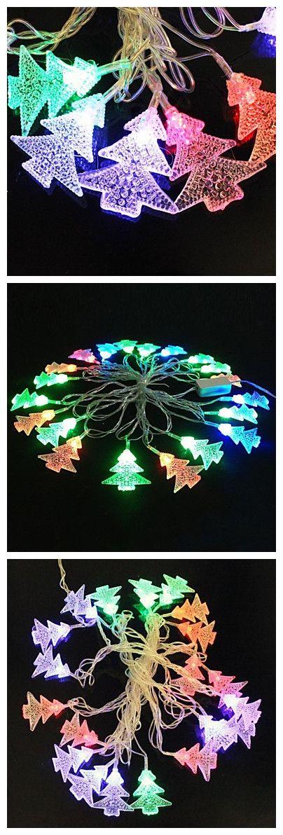 [12.99] Christmas Tree 5M 4.8W Christmas Flash 20LED RGB