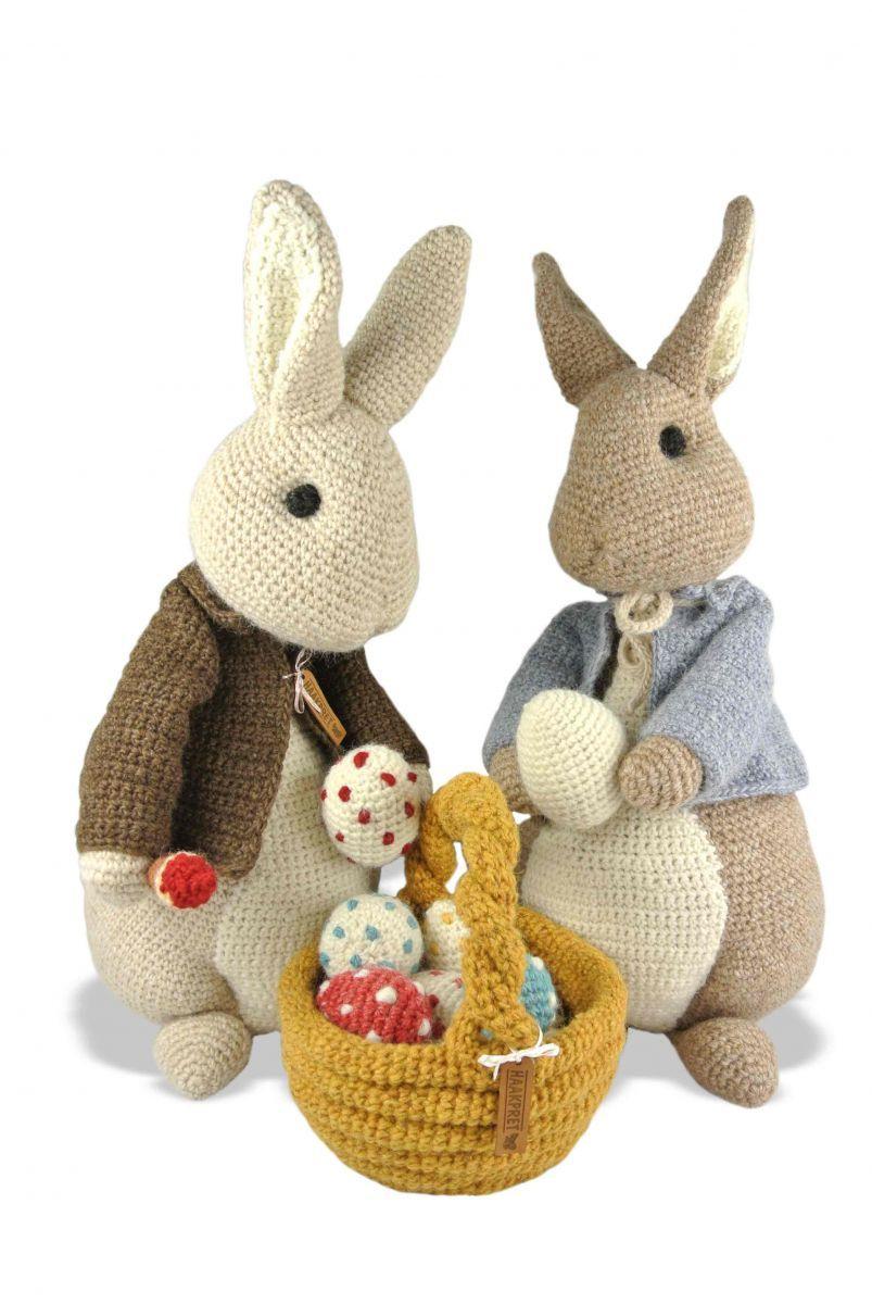 Libro Pascua aguja de ganchillo - gancho de la diversión | conejita ...