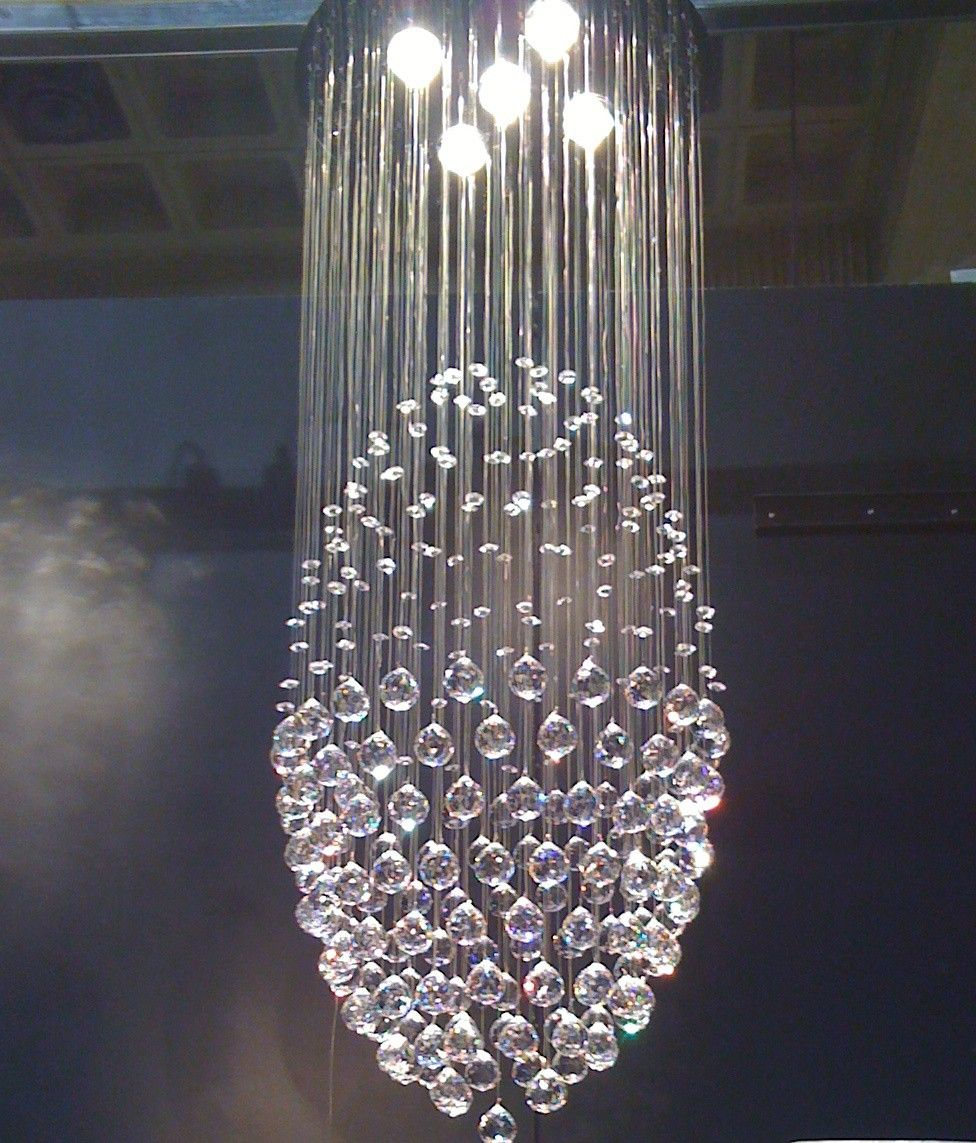 Bubble Foyer Chandelier : Chandeliers bubbles crystal sphere foyer