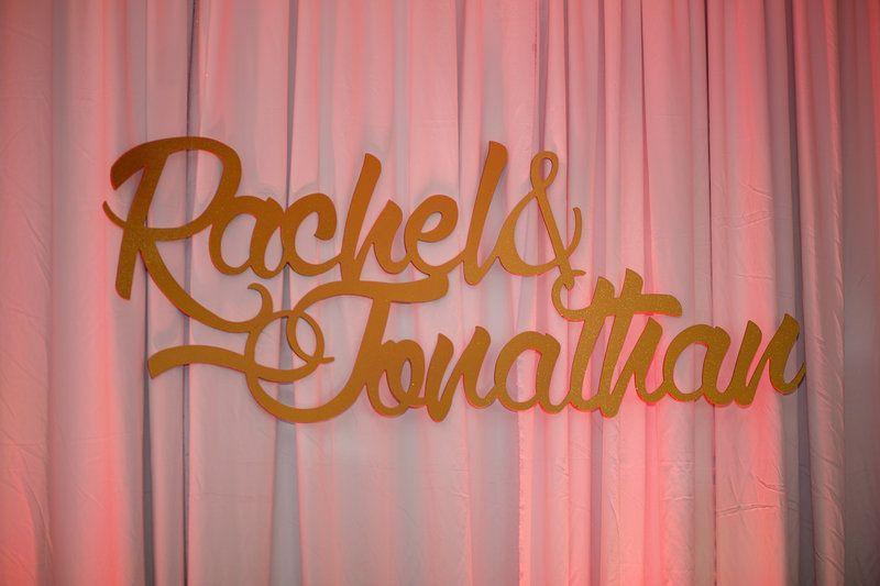 Rachel & Jon-ghetto fab letters Photo By Christina Maldonado Photography
