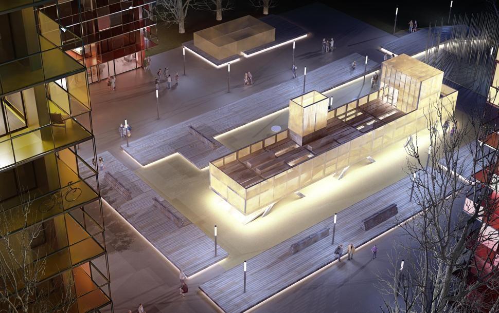 LAN urban renovation . genicart district . lormont