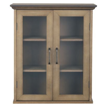 Target Medicine Cabinet Peyton Wall Cabinet  Weathered Wood  Bathroom  Pinterest