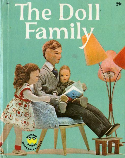 The Doll Family book via imprint.printmag