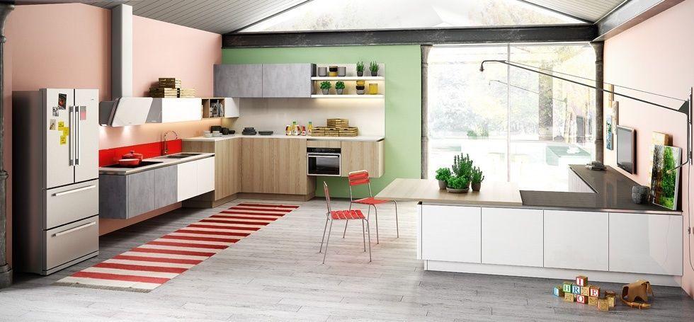 Cucina Berloni B50 disponibile in tantissime variabili di colori e ...