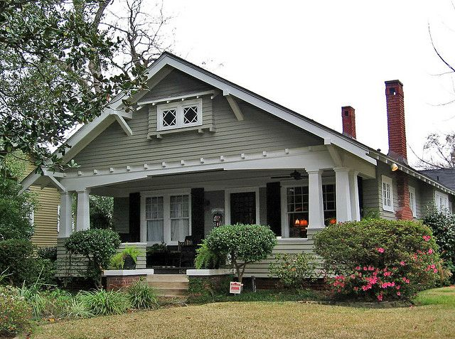 Craftsman style bungalow, Mobile, Alabama #craftsmanstylehomes