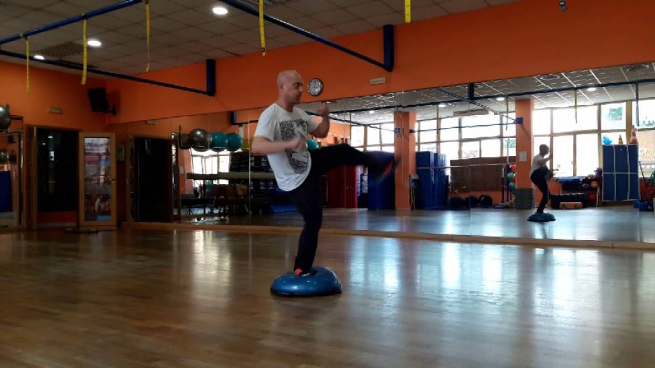 4 bosu martial arts exercise with images martial arts
