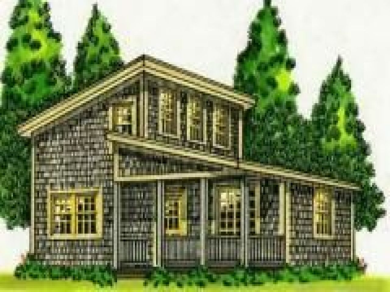 Merveilleux Cabin Plans Easy Build Affordable Home Small Modern House Plan