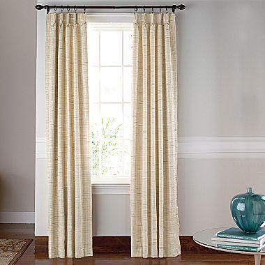 Curtains Jewel Tex Iii Pinch Pleat Drapery Panel Pair