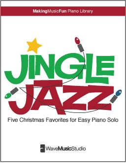 Jingle Jazz - Five Christmas Favorites for Easy Jazz Piano Digital ...