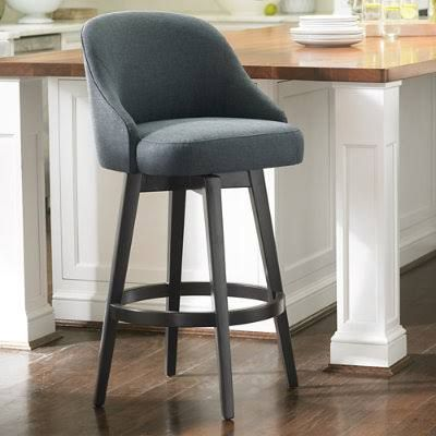 comfy bar stools with backs | Kitchen | Pinterest