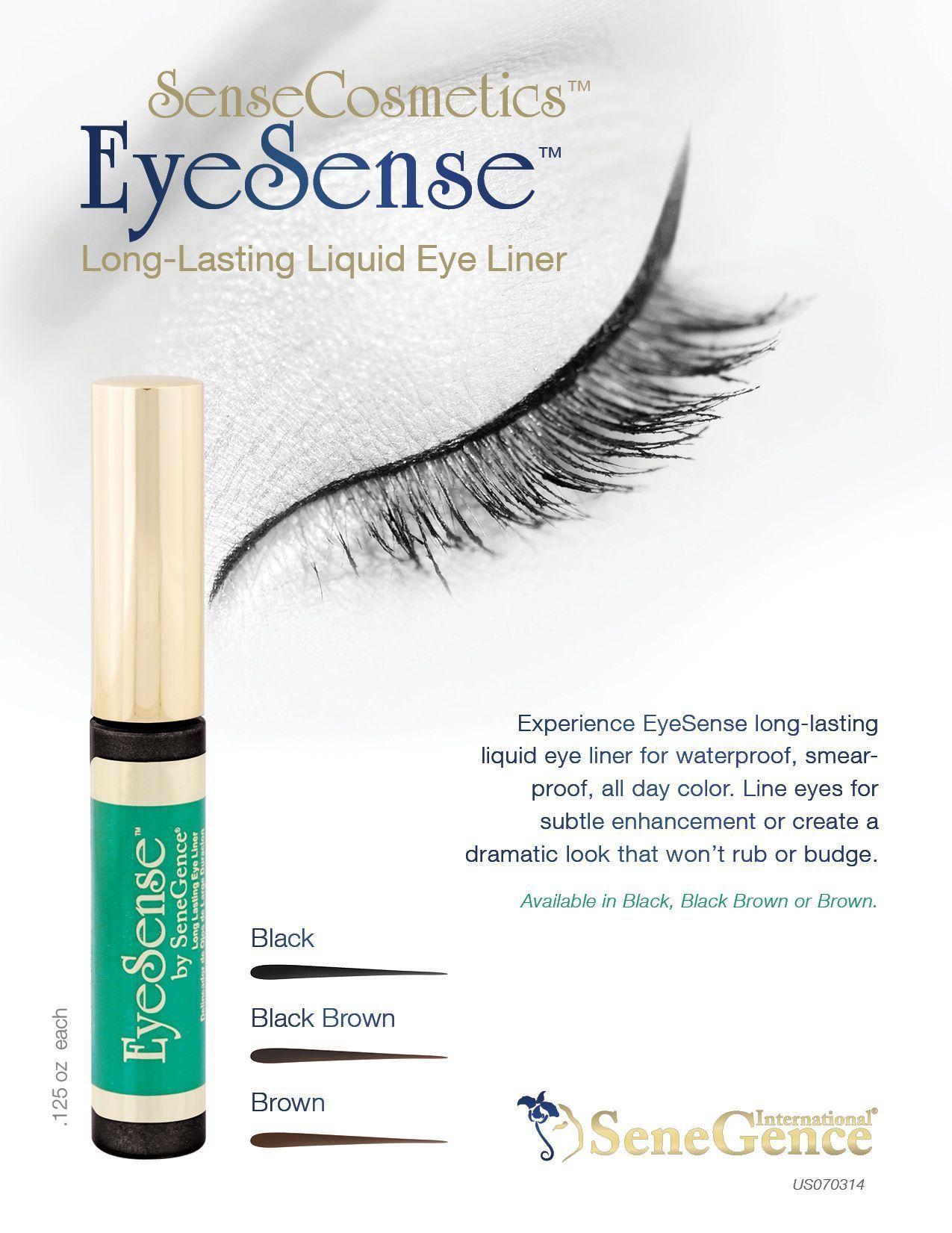 EyeSense®️ Liquid EyeLiner. Transform your eye makeup look