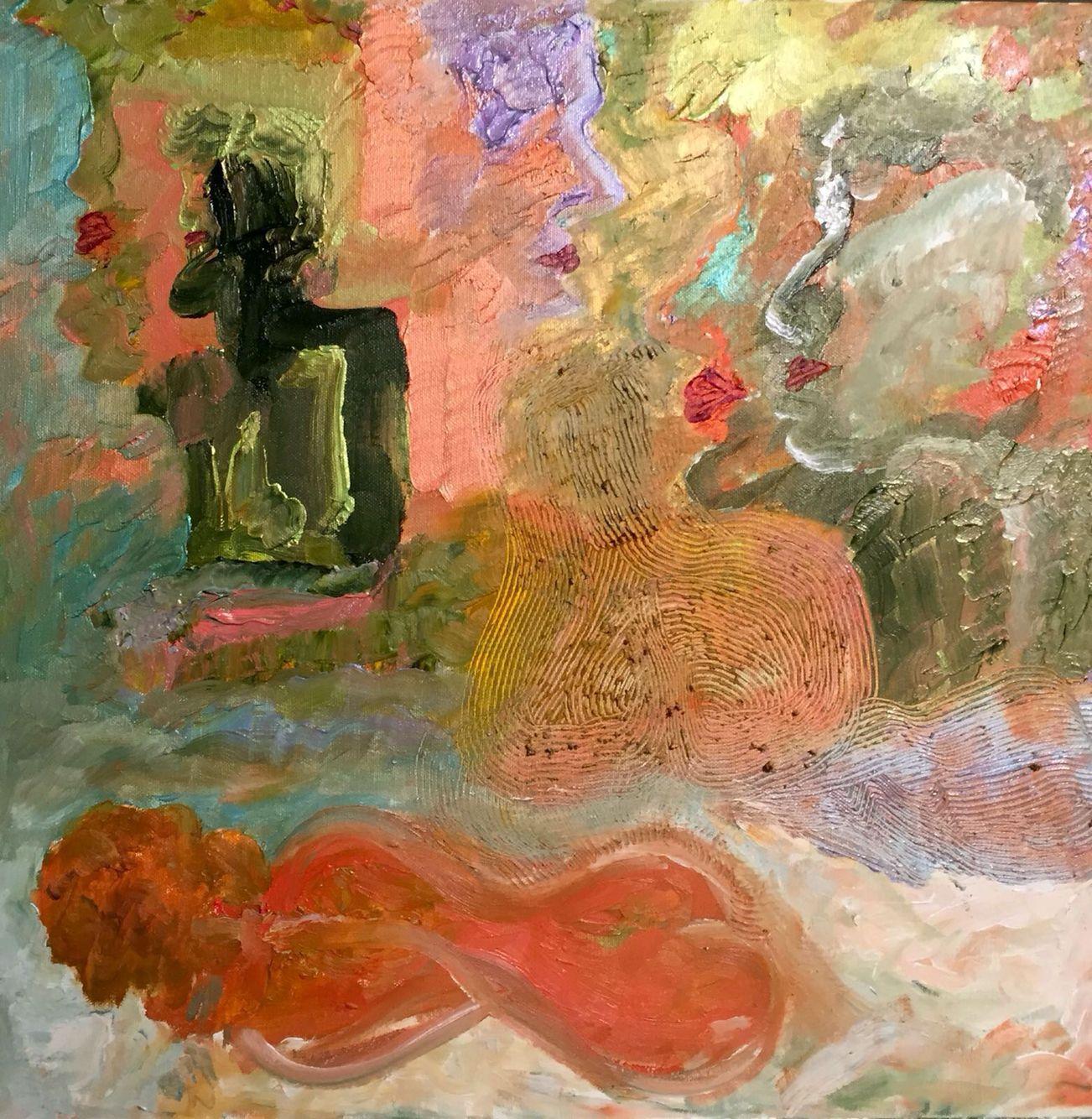 """""""Sonhos""""  Óleo sobre tela (50x50)"""