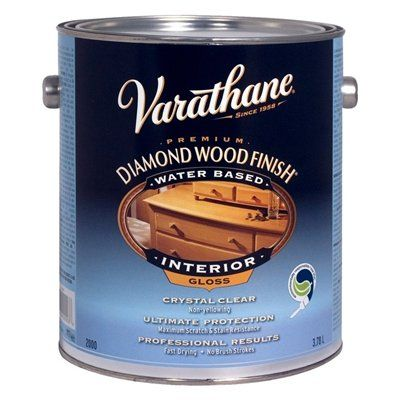 Varathane Finishes Sealer Y200 Interior Water Based Diamond Wood Finish With Images Wood Finish Varathane Wood
