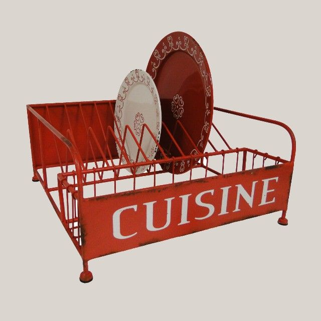 Egouttoir decoration cuisine style bistrot d co bistrot home decor home kitchens et furniture - Cuisine style bistrot chic ...