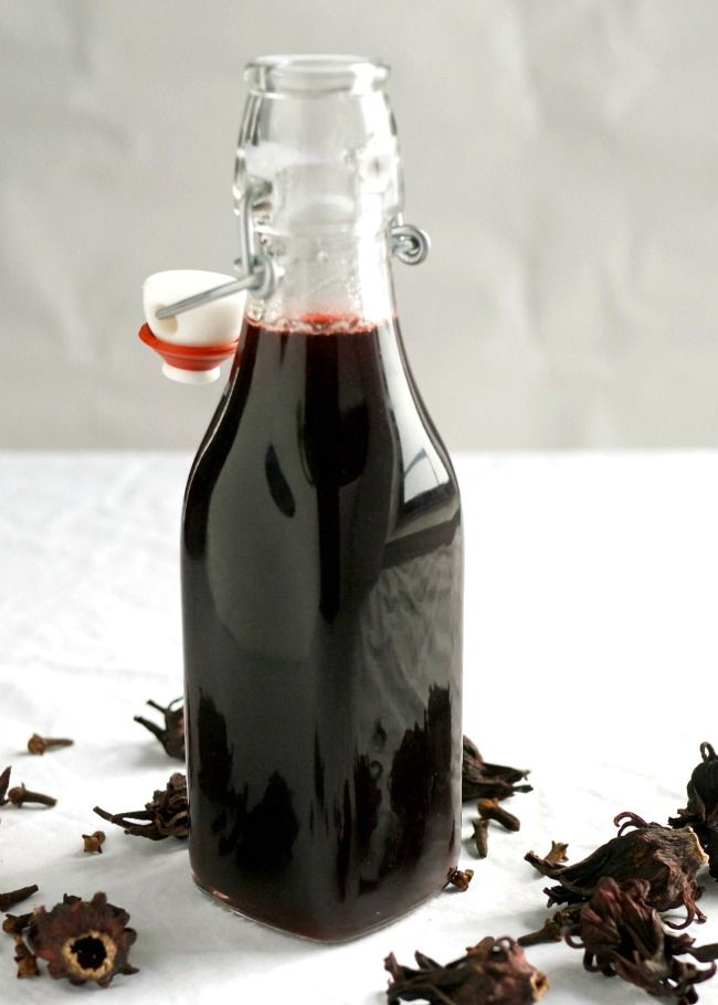 Sorrel Or Hibiscus Simple Syrup Recipe Mid Life Croissant Recipe Hibiscus Simple Syrup Recipe Simple Syrup Recipes Simple Syrup