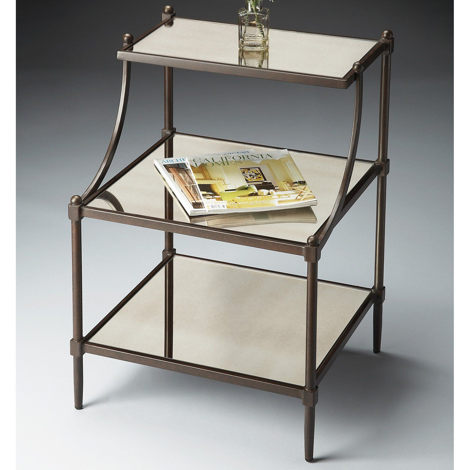 Merveilleux Butler Tiered Side Table   Metalworks | From Hayneedle.com