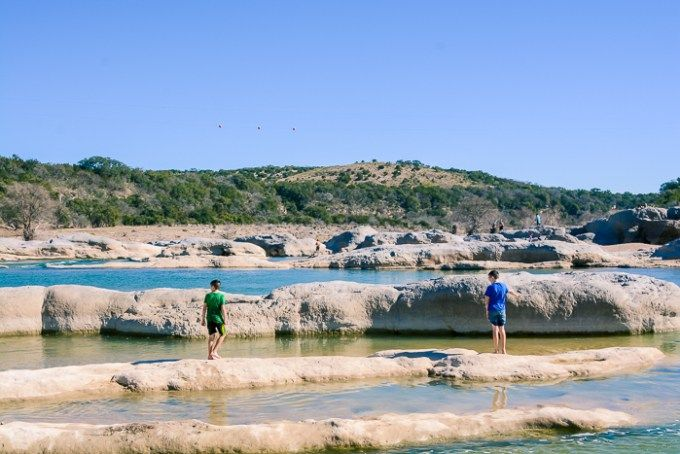 Texas Hill Country - January 2016 | Pedernales falls state ...