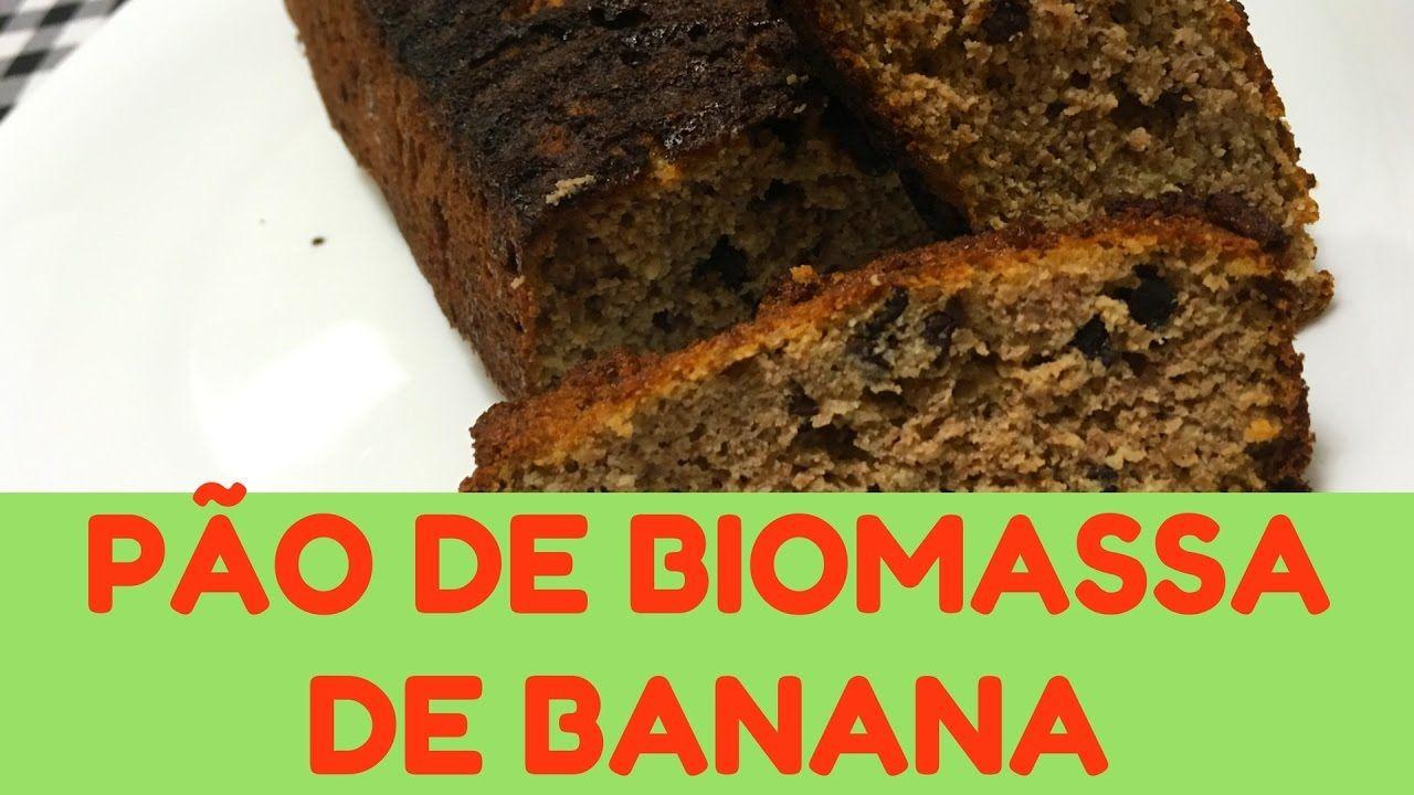 Como Fazer Pao Paleo De Biomassa De Banana Verde Vamos Dietar