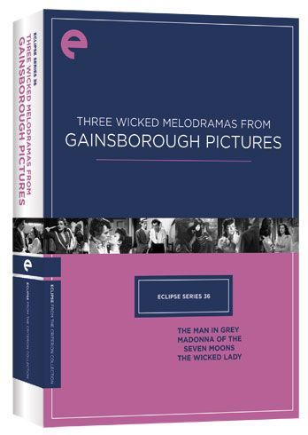 Criterion Collection Eclipse Series 36: Three Wicked Melodramas from Gainsborough Pictures