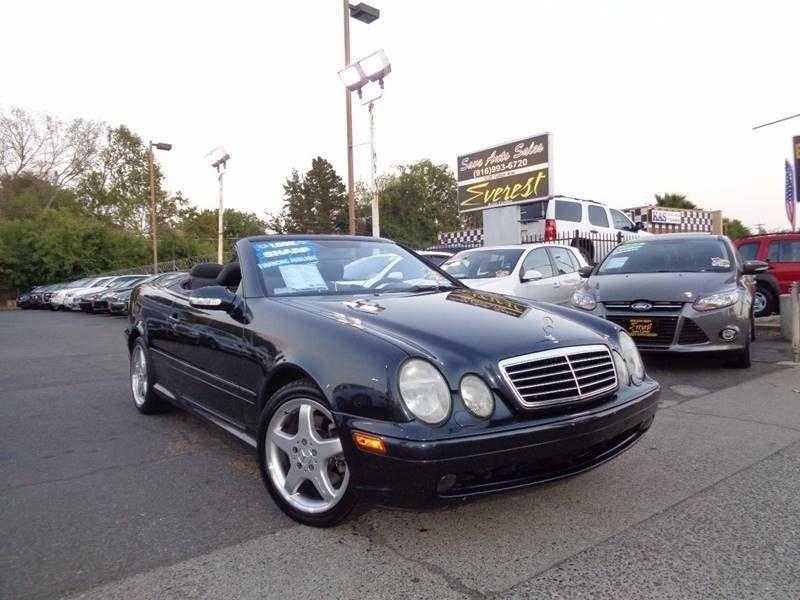 HellaBargain 2002 Mercedes-Benz CLK Automatic 5-Speed Gray ...