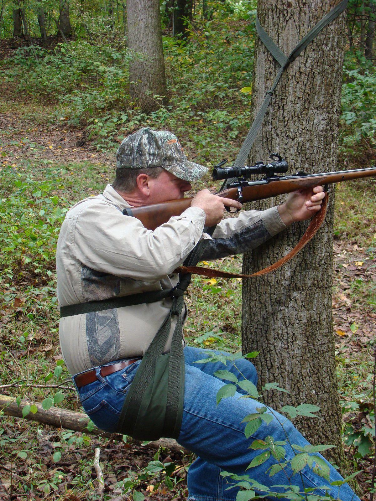 New Hunting HunterFishing Sturdy Portable Tree SeatAlso