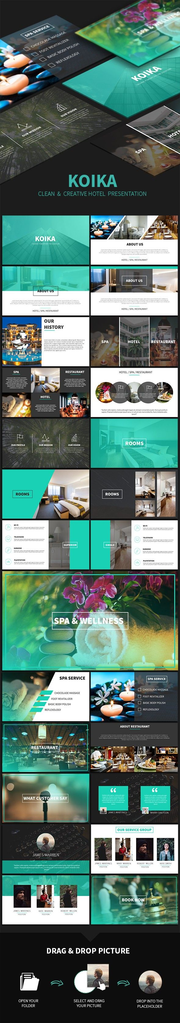 Koika Powerpoint Presentation Template Powerpoint Presentation - Best of hotel presentation template ideas