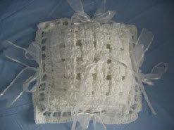 Woven Ring Pillow Free Crochet Patterneasy CROCHET 4 WEDDINGS