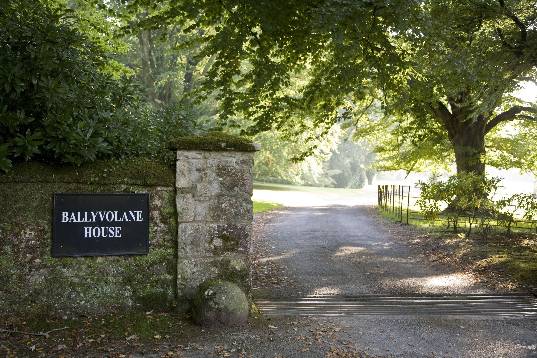 gorgeous stone gate entrance Ballyvolane House County Cork ...