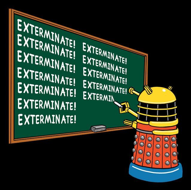 exterminate doctor who spoilers pinterest