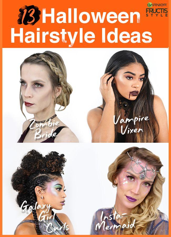 13 Halloween Hairstyles Hair Ideas Tutorials Garnier Zombie Hair Halloween Hair Hair Styles