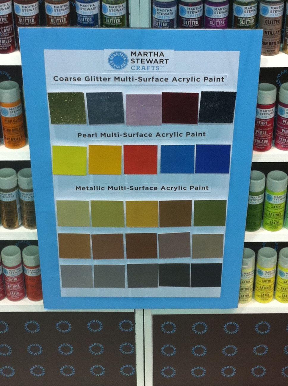 Palette Martha Stewart Paint Colors Cha Summer