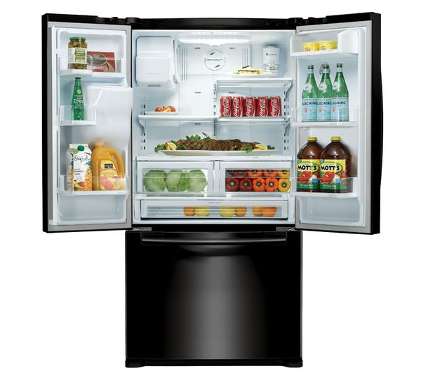 Buy SAMSUNG RFG23UEBP American-Style Fridge Freezer ...