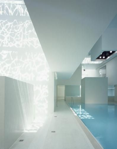 Interior of les bains des docks by french architects jean - Piscinas interiores climatizadas ...